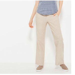Wide Leg Linen Pants-NEVER WORN